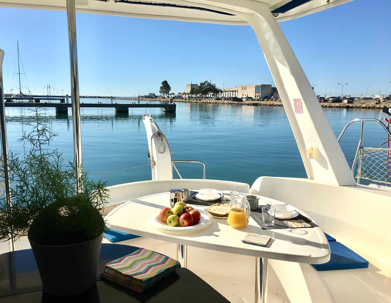 catamaran comodidad