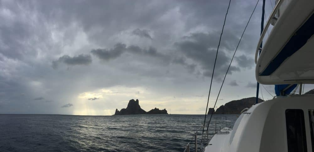 the dark Es Vedra